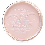 RIMMEL LONDON Stay Matte 14 g - Odstín: 003 Peach Glow - Pudr
