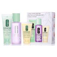 CLINIQUE 3 Step Skin Care Typ 2 - velmi suchá až smíšená pleť - Kosmetická sada