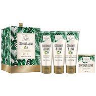 SCOTTISH FINE SOAPS Coconut & Lime Luxurious Set  - Dárková sada