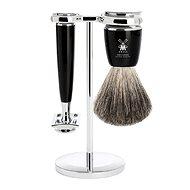 MÜHLE Rytmo Black Pure Badger 3 ks - Dárková kosmetická sada
