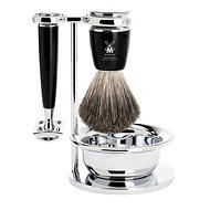 MÜHLE Rytmo Black Pure Badger 4-dílná - Pánská kosmetická sada