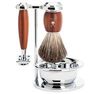 MÜHLE Vivo Plum Wood 4-Piece Set - Cosmetic Gift Set