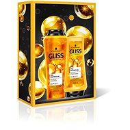 SCHWARZKOPF GLISS KUR Oil Nutritive Value Box - Dárková kosmetická sada