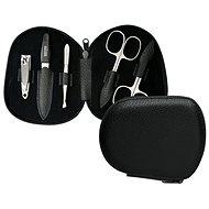 PREMIUM LINE Manicure Set for Men PL 112 Black - Manicure Set