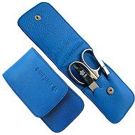 PFEILRING SOLINGEN Luxusní cestovní manikúrová sada 11186 Modrá Made in Solingen - Manikúra