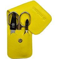 PFEILRING SOLINGEN Luxusní cestovní manikúrová sada 11185 Žlutá Made in Solingen - Manikúra