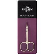 Premium Line Nůžky na kůži zakřivené 9 cm PL421 Made in Solingen - Nůžky