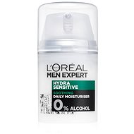 ĽORÉAL PARIS Men Expert Hydra Sensitive Protecting Moisturiser 24hrs 50ml - Men's Face Cream