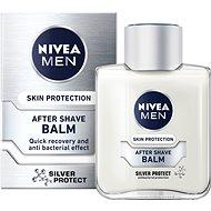 NIVEA Men After Shave Balm Silver Protect 100 ml - Balzám po holení