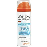 ĽORÉAL PARIS Men Expert Hydra Sensitive Shaving Foam 200 ml - Pěna na holení