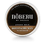 NOBERU Sandalwood Mustache Wax Strong Hold 30 ml - Vosk na vousy