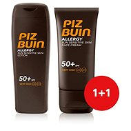 PIZ BUIN Allergy Sun Sensitive Skin Lotion SPF50+  + Piz Buin Allergy Sun Sensitive Skin Face Care S - Kosmetická sada