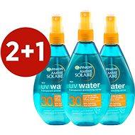 GARNIER UV Water Transparent Protecting Spray SPF 30 3 x 150 ml