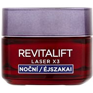 Pleťový krém ĽORÉAL PARIS Revitalift Laser X3 Night Cream 50 ml - Pleťový krém