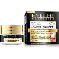 EVELINE COSMETICS Royal Caviar Actively Rejuvenating Day Cream-Concentrate 50+  50 ml - Pleťový krém