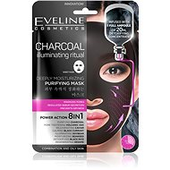 EVELINE Cosmetics Charcoal Deeply Moisturizing Face Sheet Mask  - Pleťová maska