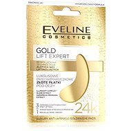 EVELINE Cosmetics Gold Lift Expert Luxury Anti-Wrinkle Golden Eye Pads 2 Ks - Pleťová maska