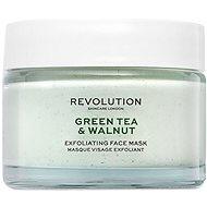 REVOLUTION SKINCARE Green Tea & Walnut Exfoliating 50 ml - Pleťová maska