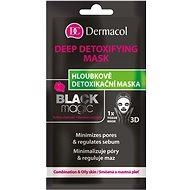 DERMACOL Tissue Detoxifying Mask Black Magic 15 ml - Pleťová maska