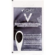 VICHY Detox Clarifying Charcoal Mask 2× 6ml - Face Mask