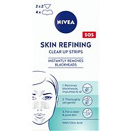 NIVEA Skin Refining Clear-Up Strips 6 ks - Náplast