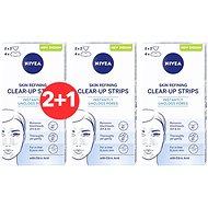 NIVEA Skin Refining Clear-Up Strips 6 ks 2+1