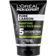 ĽORÉAL PARIS Men Expert Pure Carbon Daily Face Wash 100 ml - Čisticí gel