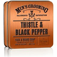 SCOTTISH FINE SOAPS Thistle and Black Pepper 100 g - Mýdlo na vousy