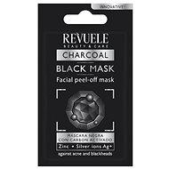 REVUELE Charcoal Black Peel-Off 7 ml - Pleťová maska