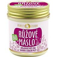 PURITY VISION Bio Růžové máslo 120 ml - Máslo