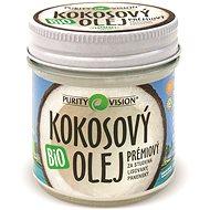 PURITY VISION Fair Trade Kokosový olej panenský BIO 120 ml - Olej