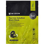 MIZON Teatree Solution Black Mask 25g - Face Mask
