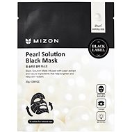 MIZON Pearl Solution Black Mask 25 g - Pleťová maska