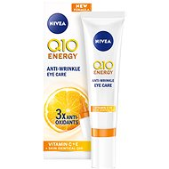 NIVEA Q10 Plus C Anti-Wrinkle Energizing Eye Cream 15 ml - Oční krém