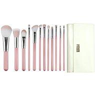 ROYAL & LANGNICKEL Love is... Kindness™ Wrap Kit 12 pcs Pink - Sada kosmetických štětců