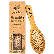 PANDOO Bambusový kartáč na vlasy s přírodními štětinami - Kartáč na vlasy