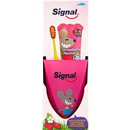 SIGNAL Strawberry dětská zubní sada - Sada pro ústní hygienu