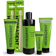 HERBADENT - Package for Healthy Mouth MAXI - Oral Hygiene Set