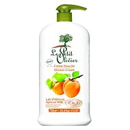 LE PETIT OLIVIER Apricot Milk Shower Cream 750 ml