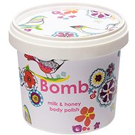 BOMB COSMETICS Tělový peeling Mléko a med 375 g - Peeling
