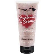 I LOVE… Exfoliating Shower Smoothie Strawberries & Cream 200 ml - Peeling