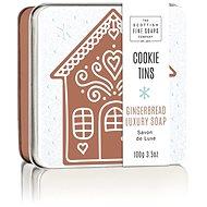 SCOTTISH FINE SOAPS Vánoční mýdlo v plechu Perníčky 100 g - Tuhé mýdlo