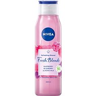 NIVEA Fresh Blends Raspberry, Blueberry, Almond Milk 300 ml - Sprchový gel