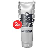 TESORI d'Oriente White Musk Shower Cream 3 × 250 ml