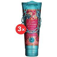 TESORI d'Oriente Ayurveda Shower Cream 3 × 250 ml