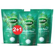 RADOX Muscle Relax Bath Salts 900 g 2+1 - Koupelová sůl