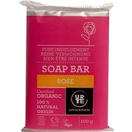 URTEKRAM BIO Soap Bar Rose 100 g - Tuhé mýdlo