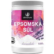 Allnature Epsomská sůl Levandule 1 kg - Koupelová sůl
