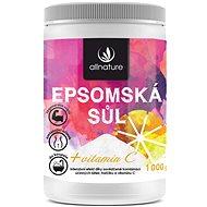 Allnature Epsomská sůl Vitamín C 1 kg - Koupelová sůl