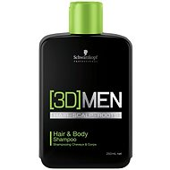 SCHWARZKOPF Professional [3D]Men Hair & Body Shampoo 250 ml